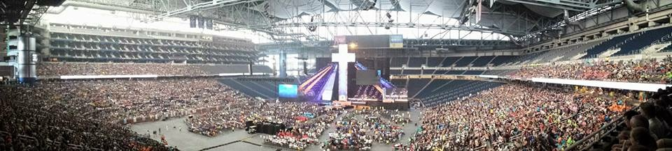 Panoramic of Ford Field