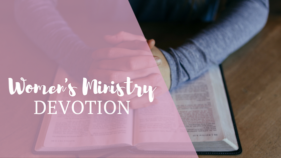 women's ministry devotion banner