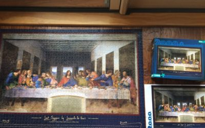 a puzzle of the Last Supper