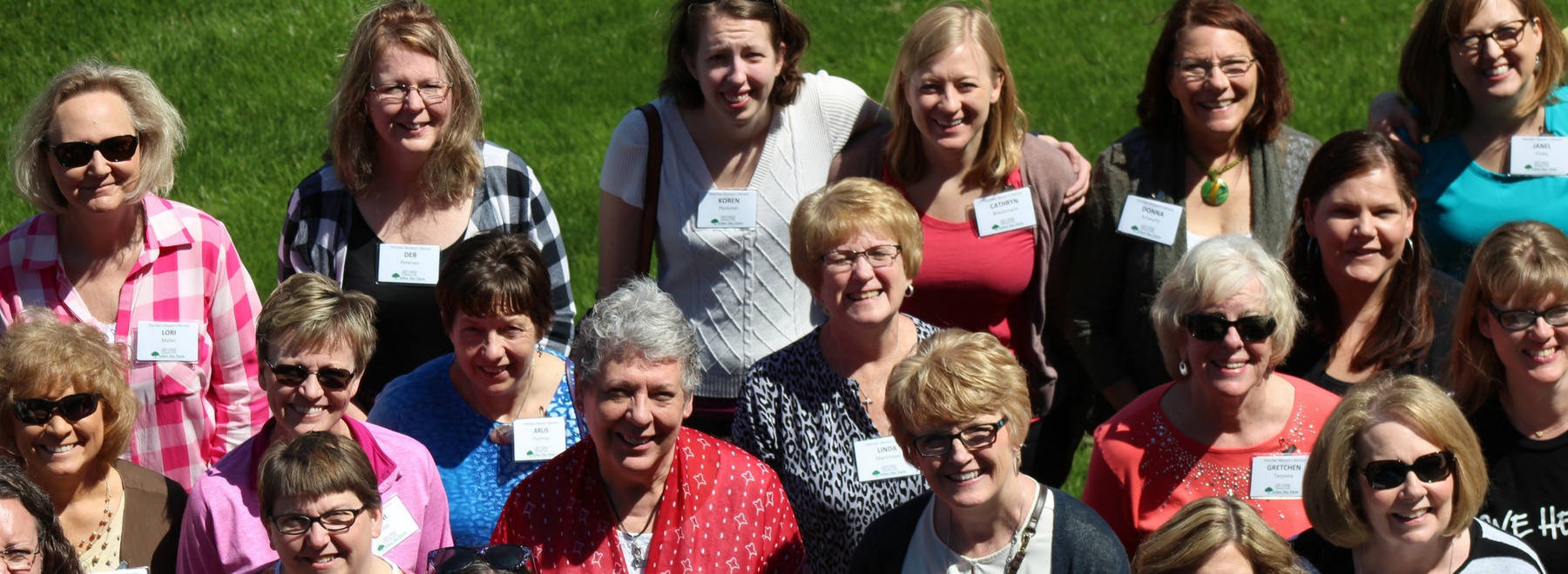 group of women's ministry