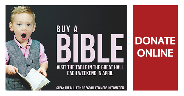 Buy A Pew Bible Initiative!