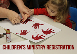 Children's Ministry Registration