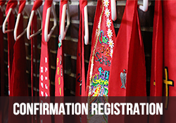 Confirmation Ministry Registration