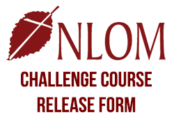 NLOM Camp Challenge Course Release Form