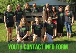 Youth Contact Info Form