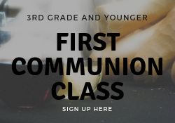 First Communion Sign Up