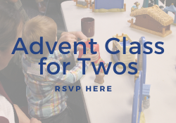 Advent Class for Twos
